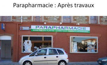 Aménagement d'une parapharmacie à St Laurent de la Salanque (66)