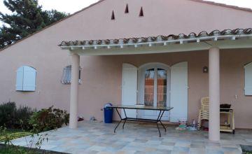 Ravalement de façade et création de terrasse à Saint-André (66)
